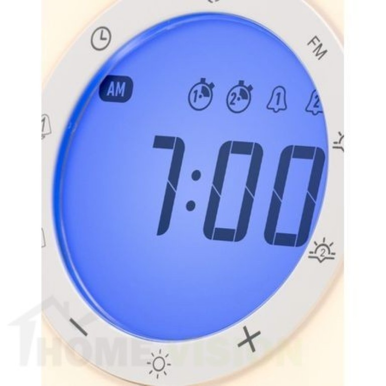 Светещ будилник симулатор на зората LANAFORM WAKE UP LIGHT