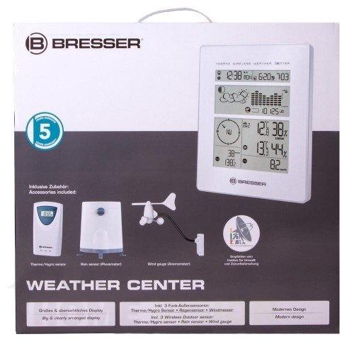 Метеорологична станция Bresser RC бяла