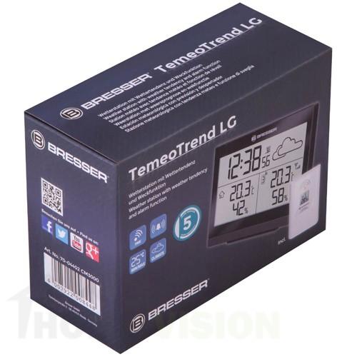 Метеорологична станция Bresser TemeoTrend LG RC черна
