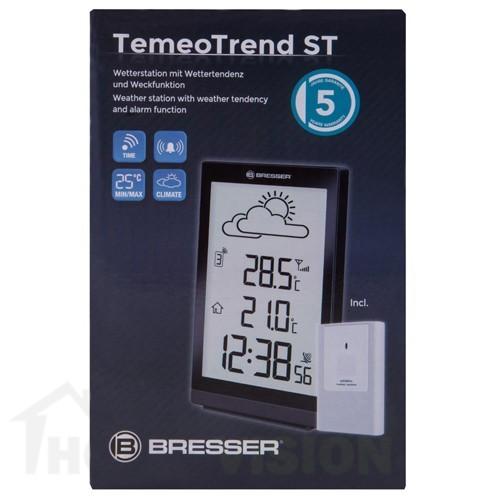 Метеорологична станция Bresser TemeoTrend ST RC черна