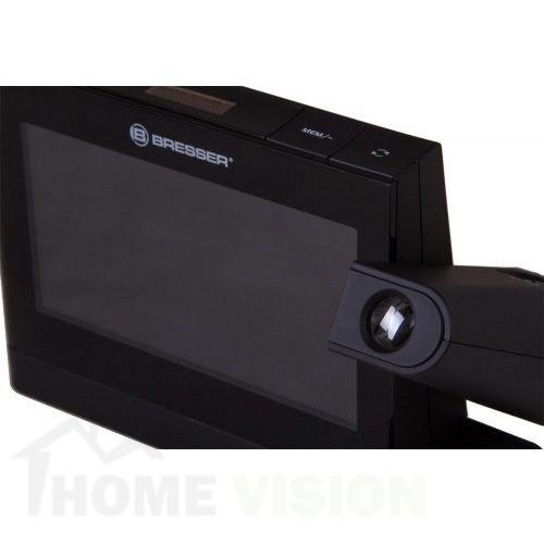 Часовник за проекция Bresser с цветен дисплей черен