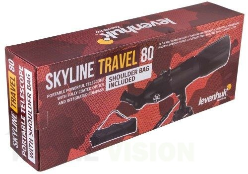 Телескоп Levenhuk Skyline Travel 80