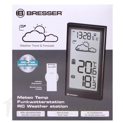 Метеорологична станция Bresser Temp