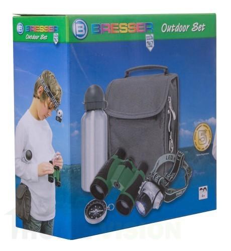 Детски комплект с бинокъл Bresser Junior Outdoor