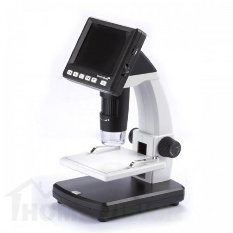 USB цифров микроскоп с течнокристален дисплей Levenhuk DTX 500