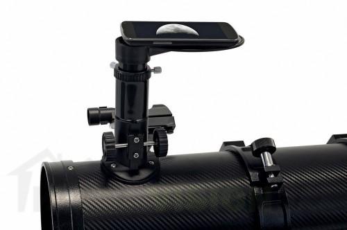 Телескоп Bresser Spica 130/650 EQ3 с адаптер за смартфон