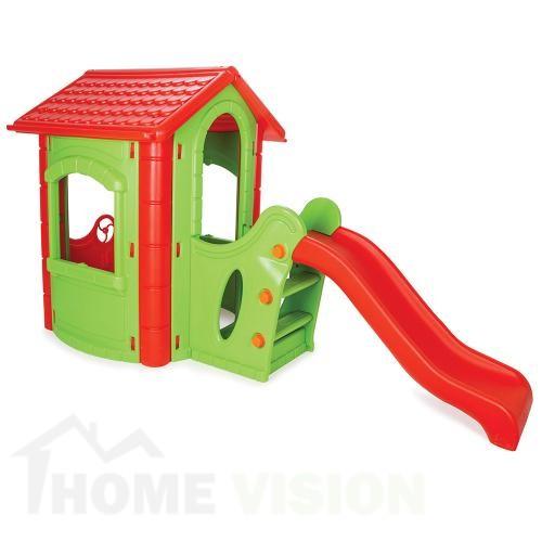 Къща с пързалка