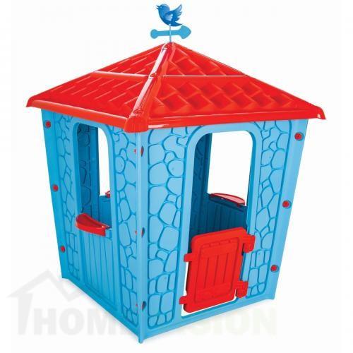къща синя