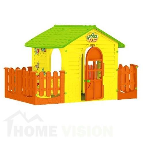 Малка къща с две огради