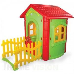 Магическа къща с ограда