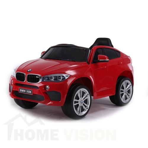 BMW X6M Червен