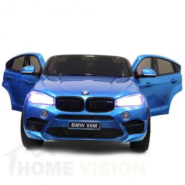 Акумулаторен джип BMW X6M металик