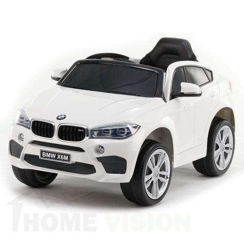 BMW X6M Бял
