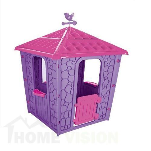 къща лилава