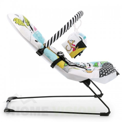 Бебешки шезлонг с вибрация KinderKraft SmartFUN