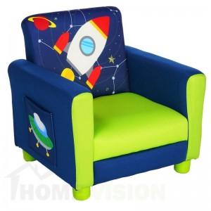 Детски фотьойл Delta Children Астронавт