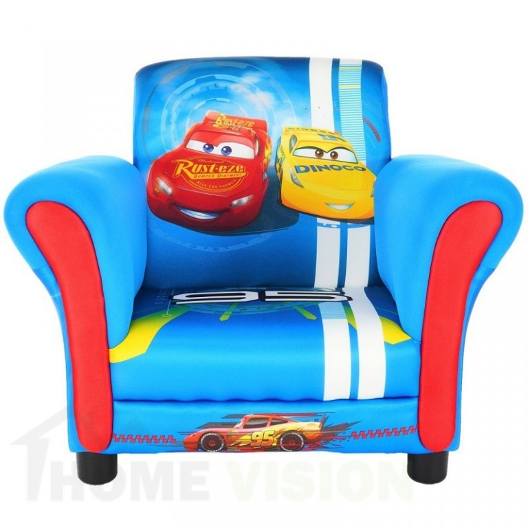Детски фотьойл Delta Children Cars
