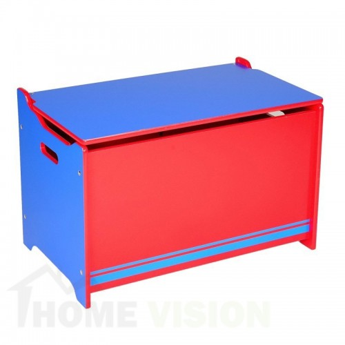 Скрин за играчки Delta Children Синьо-червено