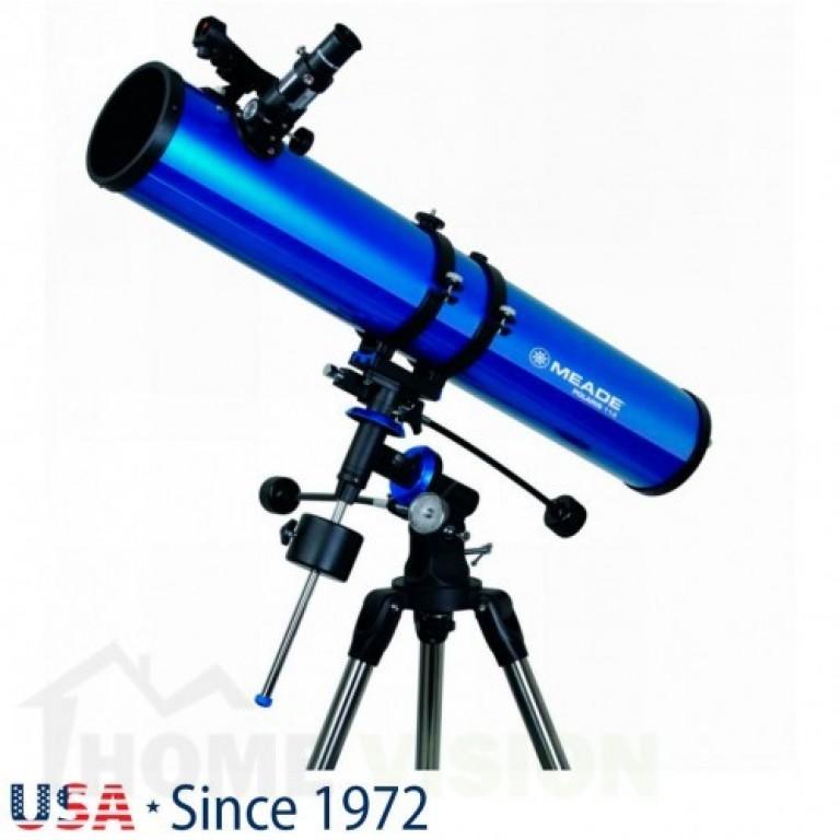 Нютонов рефлекторен телескоп Meade Polaris 114 mm EQ