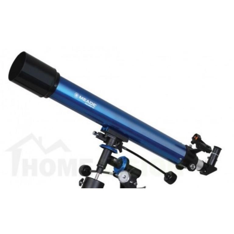 Ахроматичен рефракторен телескоп Meade Polaris 90 mm EQ