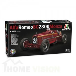 1:12 Ретро автомобил АЛФА РОМЕО 8С 2300 МОНЦА (ALFA ROMEO 8C 2300 Monza)