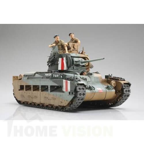 1:35 Британски пехотен танк Matilda - Mk.III/IV - 2 фигури