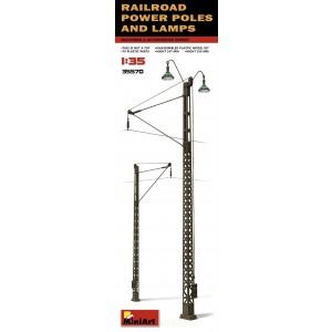 1:35 Железопътни стълбове и лампи (Railroad Power Poles & Lamps)