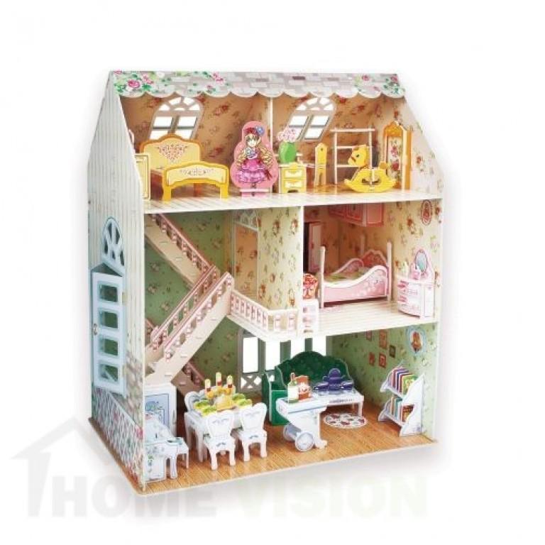 3D Пъзел Cubic Fun от 160 части - Кукленска мечта
