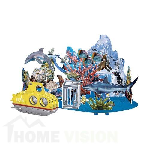 3D Пъзел Cubic Fun от 63 части - Подводно Приключение