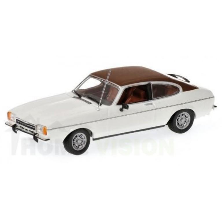 FORD CAPRI II - 1974 - WHITE L.E. 1008 pcs.
