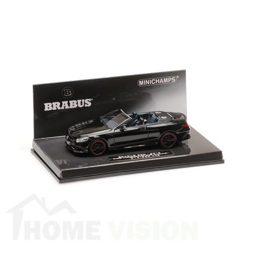 BRABUS 850 MERCEDES-AMG S 63 S-CLASS CABRIOLET – 2016 – BLACK