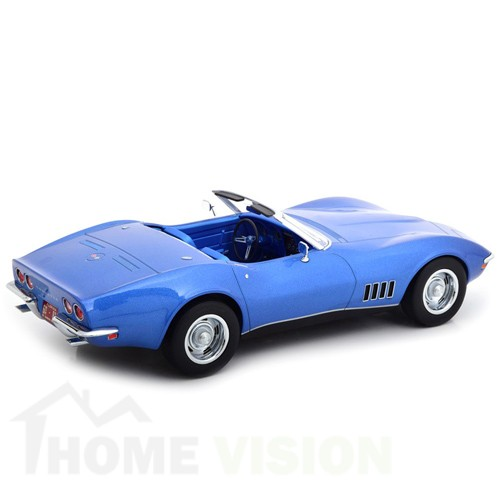 Chevrolet Corvette Convertible 1969 - Blue metallic