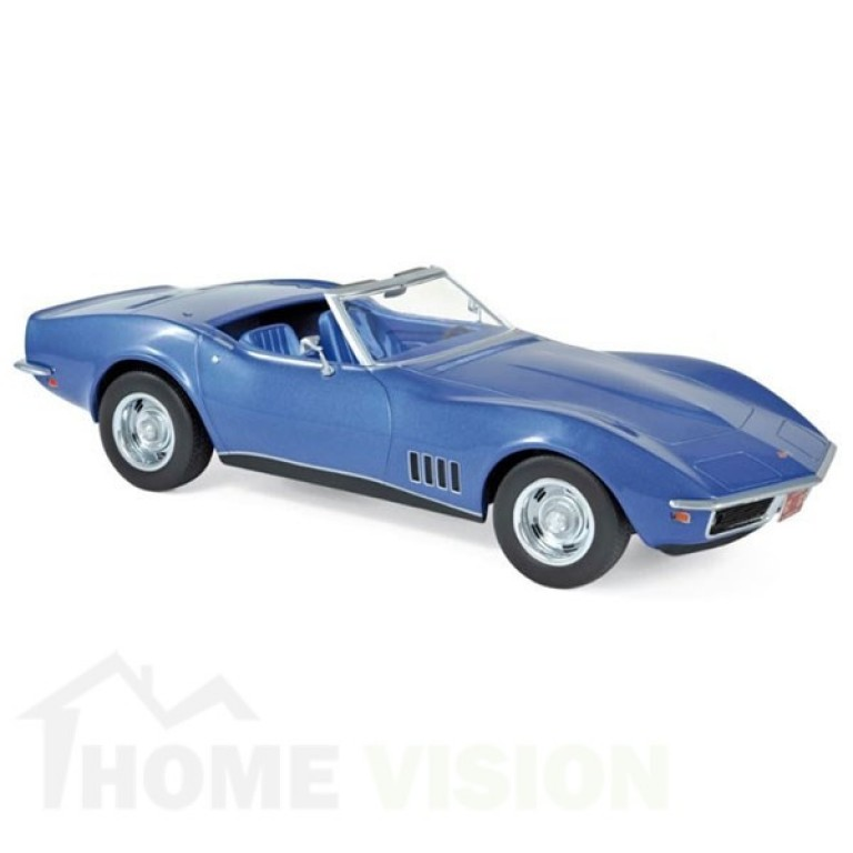 Chevrolet Corvette Convertible 1969 - Blue metallic