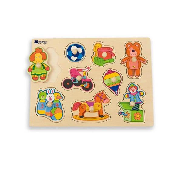 Дървен пъзел Andreu toys - Играчки