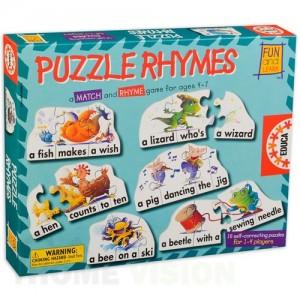 Детска игра Educa - Puzzle Rhymes