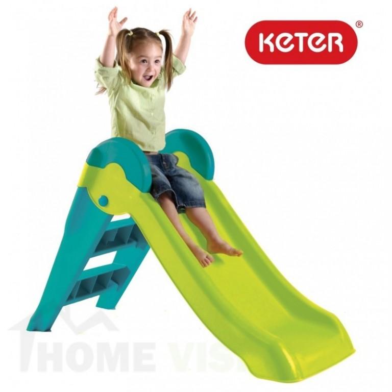 Детска пързалка Keter Boogie Slide Синьо-Зелена