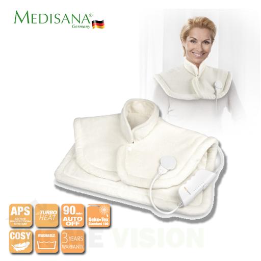 Електрическа грейка за врат и гръб Medisana HP 630 с 4D топлинна технология