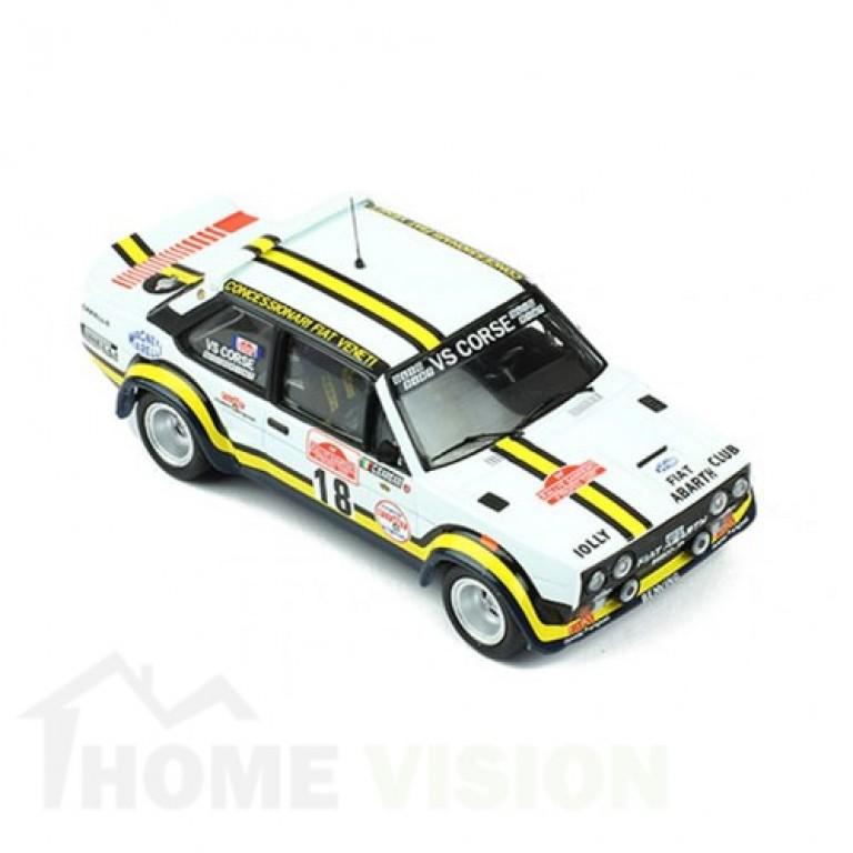 FIAT 131 ABARTH 18, A. Pasetti - G. Barban, Rallye Sanremo 1978