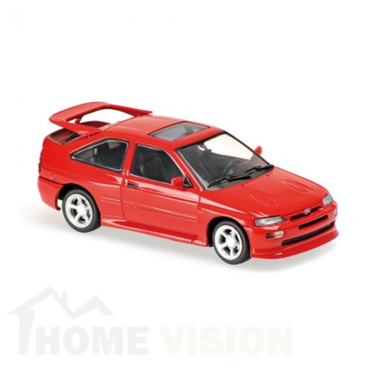 FORD ESCORT COSWORTH - 1992 -RED - MAXICHAMPS