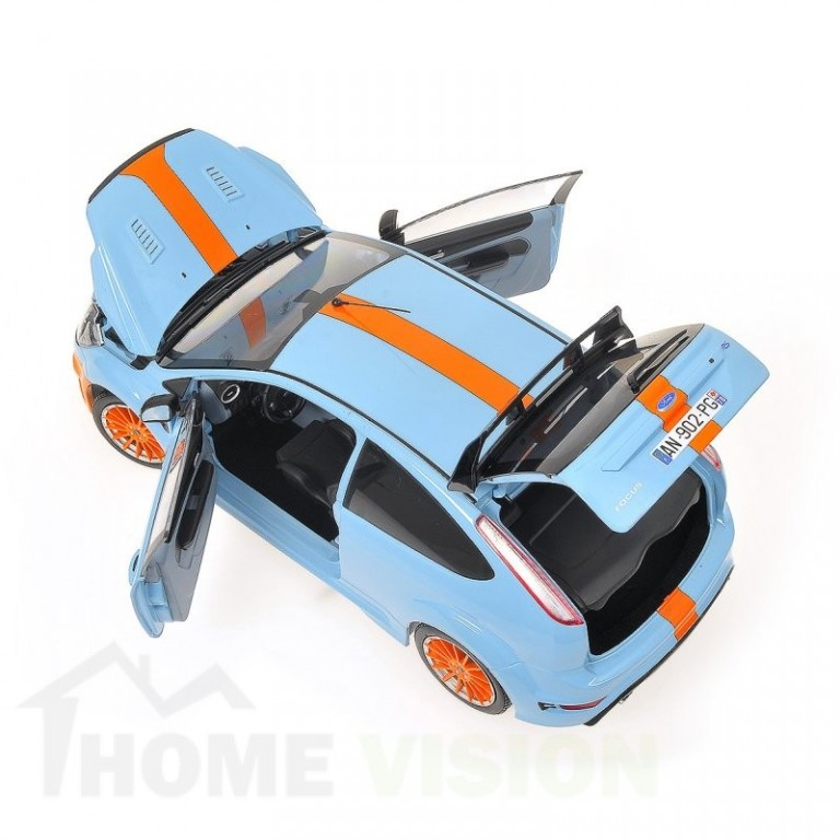 FORD FOCUS RS - 2010 - LE MANS CLASSIC EDITION - BLUE - 1968 FORD GT40 TRIBUTE L.E. 900 pcs.