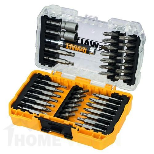 Комплект накрайници и битове DEWALT DT70717 40 ЧАСТИ