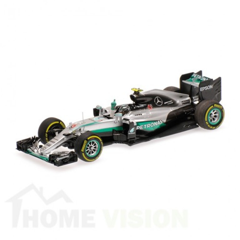 MERCEDES AMG PETRONAS FORMULA ONE TEAM F1 W07 HYBRID - ROSBERG - WORLD CHAMPION - ABU DHABI GP 2016