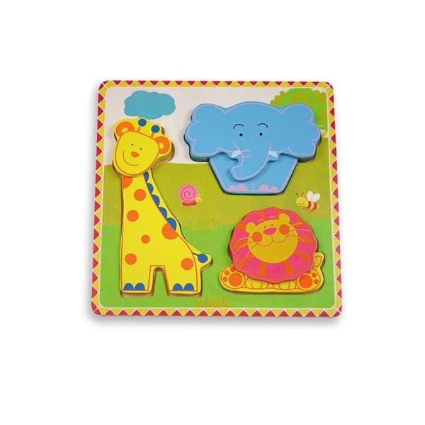 Моят първи пъзел Andreu toys – Джунгла