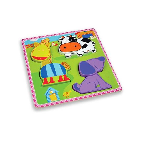 Моят първи пъзел Andreu toys – Ферма