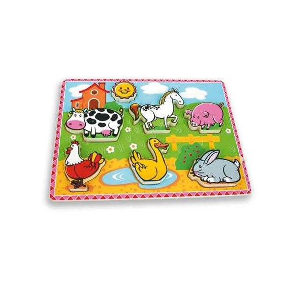 Моят първи пъзел Andreu toys – Животни във фермата