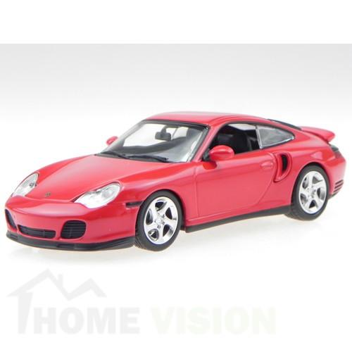 PORSCHE 911 TURBO (996) - 1999 - RED - MAXICHAMPS