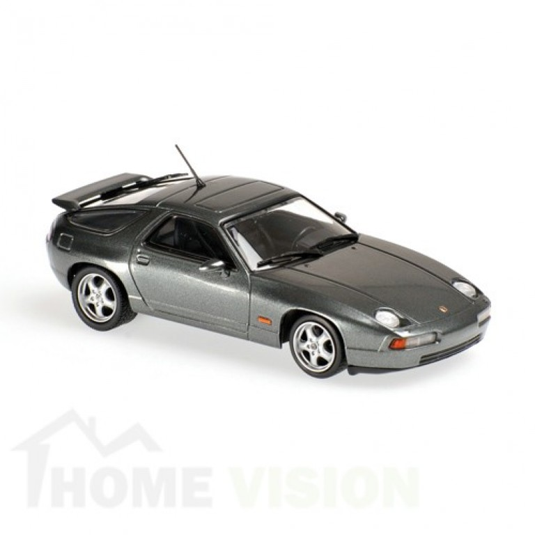 PORSCHE 928 GTS - 1991 - GREY METALLIC - MAXICHAMPS