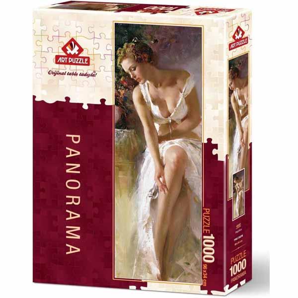 Панорамен пъзел Art Puzzle от 1000 части - Анджелика, Пино Даени