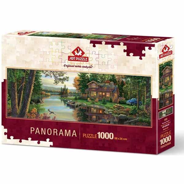Панорамен пъзел Art Puzzle от 1000 части - Изкуството на мира, Ким Норлиен