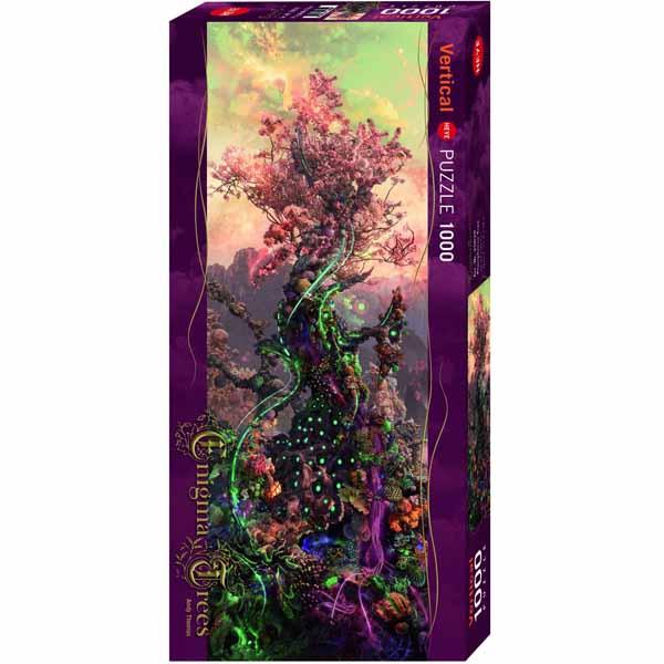 Пъзел Heye от 1000 части - Фосфорно дърво, Анди Томас